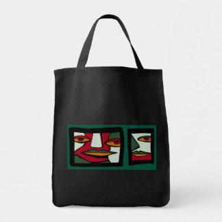 Ugly Mug Tote Canvas Bags