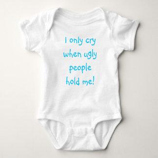 Ugly people baby bodysuit