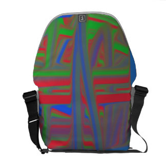 Ugly piece of art courier bags