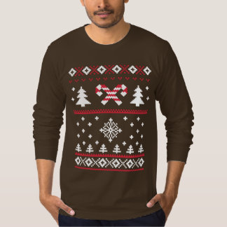 Ugly Sweater Candy Cane Christmas Sweater Fun
