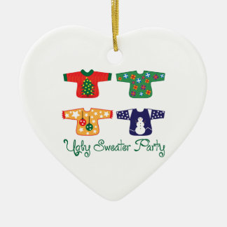 Ugly Sweater Christmas Ornament