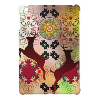 Ugly Sweater Christmas Reindeer Design iPad Mini Cases