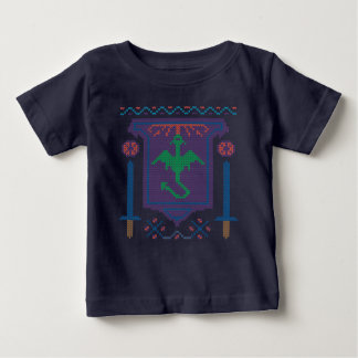 Ugly Sweater Fire Breathing Dragon Tshirt