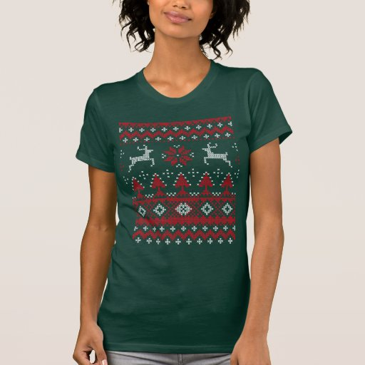 Ugly Sweater Funny Christmas shirts