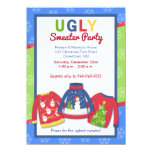 Ugly Sweater Party Customised Holiday Invitation