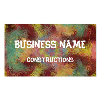 ugly unpleasant pattern Double-Sided standard business cards (Pack of 100)