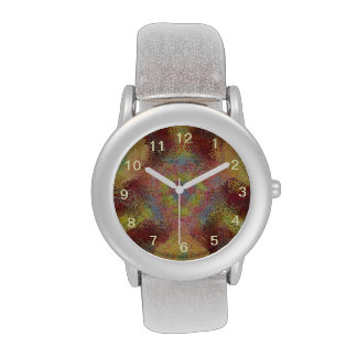 ugly unpleasant pattern wrist watches