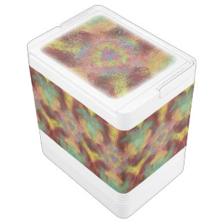 ugly unpleasant pattern igloo cooler