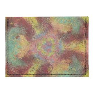 ugly unpleasant pattern tyvek® card wallet