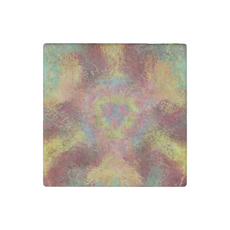 ugly unpleasant pattern stone magnet