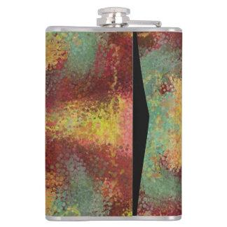 ugly unpleasant pattern hip flask
