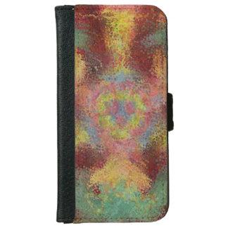 ugly unpleasant pattern iPhone 6 wallet case