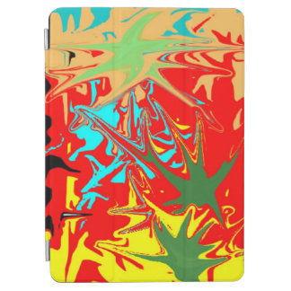 Ugly unusual colorful blot iPad air cover