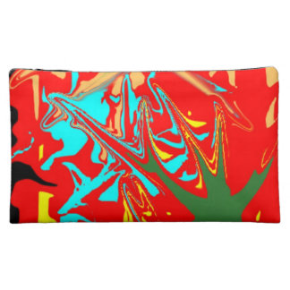 Ugly unusual pattern cosmetic bags