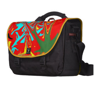 Ugly unusual pattern commuter bag