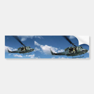 UH1 50 HELICOPTER CAR BUMPER STICKER