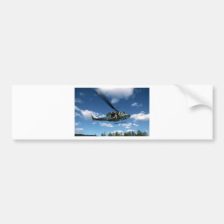UH1 50 HELICOPTER BUMPER STICKER