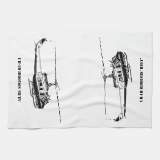 UH-1H Iroquois Helicopter Tea Towel