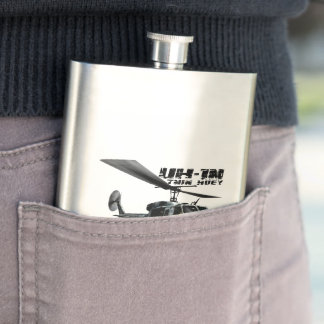 UH-1N Twin Huey Flask