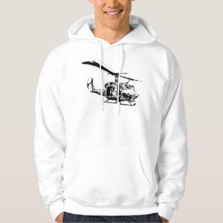 UH-1N Twin Huey Hoodie