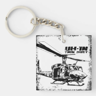 UH-1N Twin Huey Key Ring