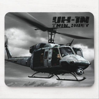 UH-1N Twin Huey Mouse Mat