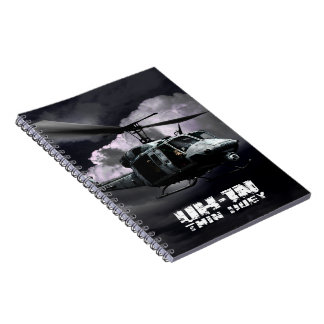 UH-1N Twin Huey Spiral Notebook
