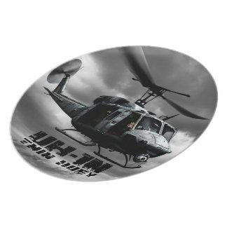 UH-1N Twin Huey Plate