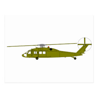 UH-60A Utility Helicopter Postcard