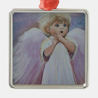 Uh Oh Angel Christmas Ornament