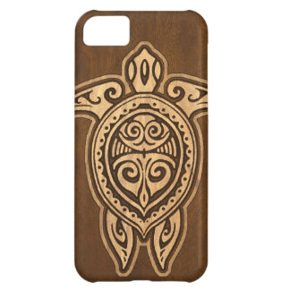 Uhane Honu Faux Wood Hawaiian Turtle iPhone 5 Case