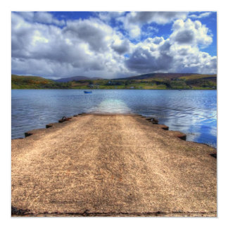Uig, Isle of Skye 13 Cm X 13 Cm Square Invitation Card