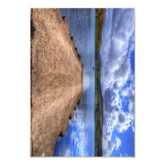 Uig, Isle of Skye 9 Cm X 13 Cm Invitation Card