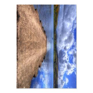 "Uig, Isle of Skye 5"" X 7"" Invitation Card"