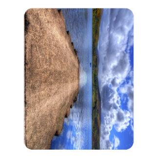 "Uig, Isle of Skye 4.25"" X 5.5"" Invitation Card"