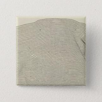 Uinta Mountains Stereogram 15 Cm Square Badge