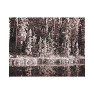 Uinta Pond Canvas Print