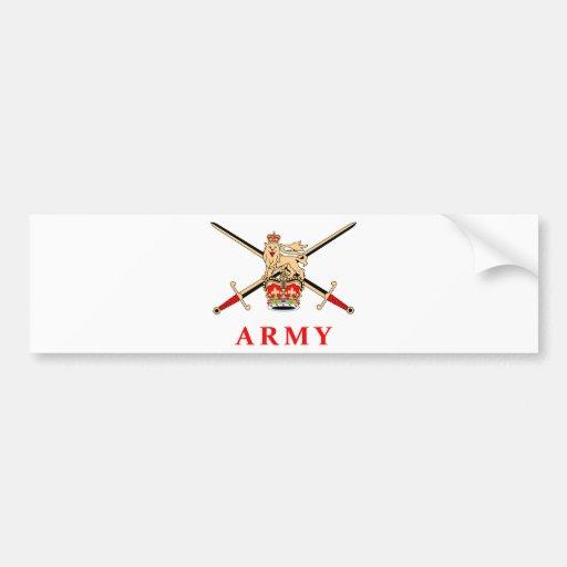 UK Army Bumper Sticker