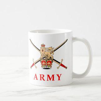 UK Army Classic White Coffee Mug