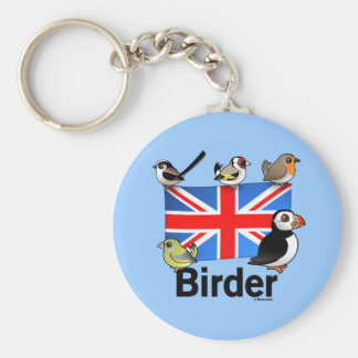 UK Birder Keychains
