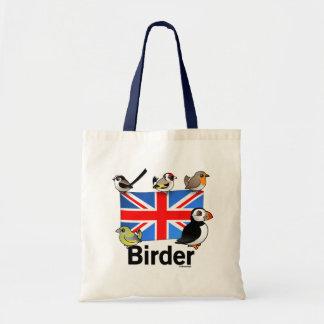 UK Birder Tote Bag