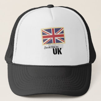 UK Britain Flag Life Send Me To Country Trucker Hat