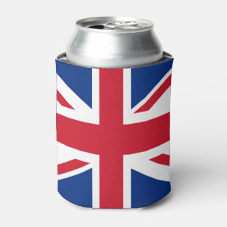 UK Britain Royal Union Jack Flag Can Cooler