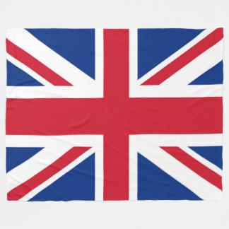 UK Britain Royal Union Jack Flag Fleece Blanket