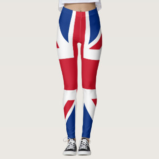 UK Britain Royal Union Jack Flag Leggings