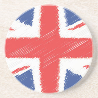 UK British Flag Drink Coasters