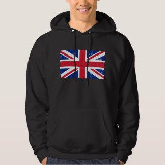 UK British Great Britain England English Flag Hoodie