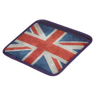 UK British Union Jack flag retro style ipad sleeve