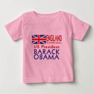 UK CELEBRATES US President Obama Souvenir Infants Tshirt