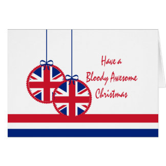 UK Christmas Card